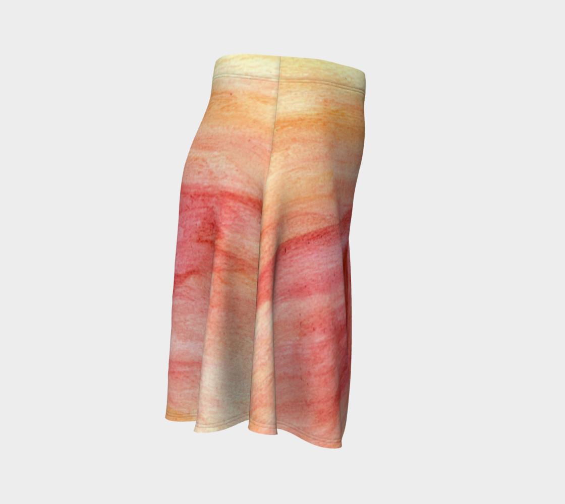 Radiating Heart Flare Skirt preview #3