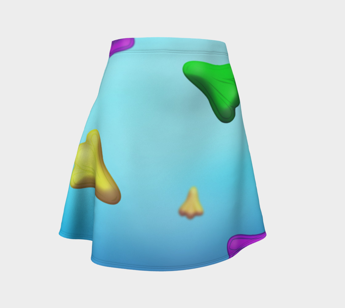 Jet Plane Flare Skirt by Squibble Design preview #1
