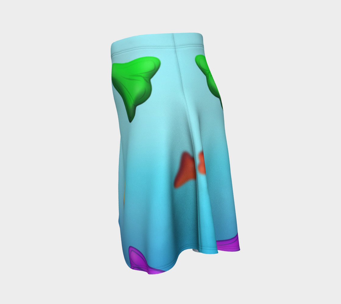 Jet Plane Flare Skirt by Squibble Design preview #2