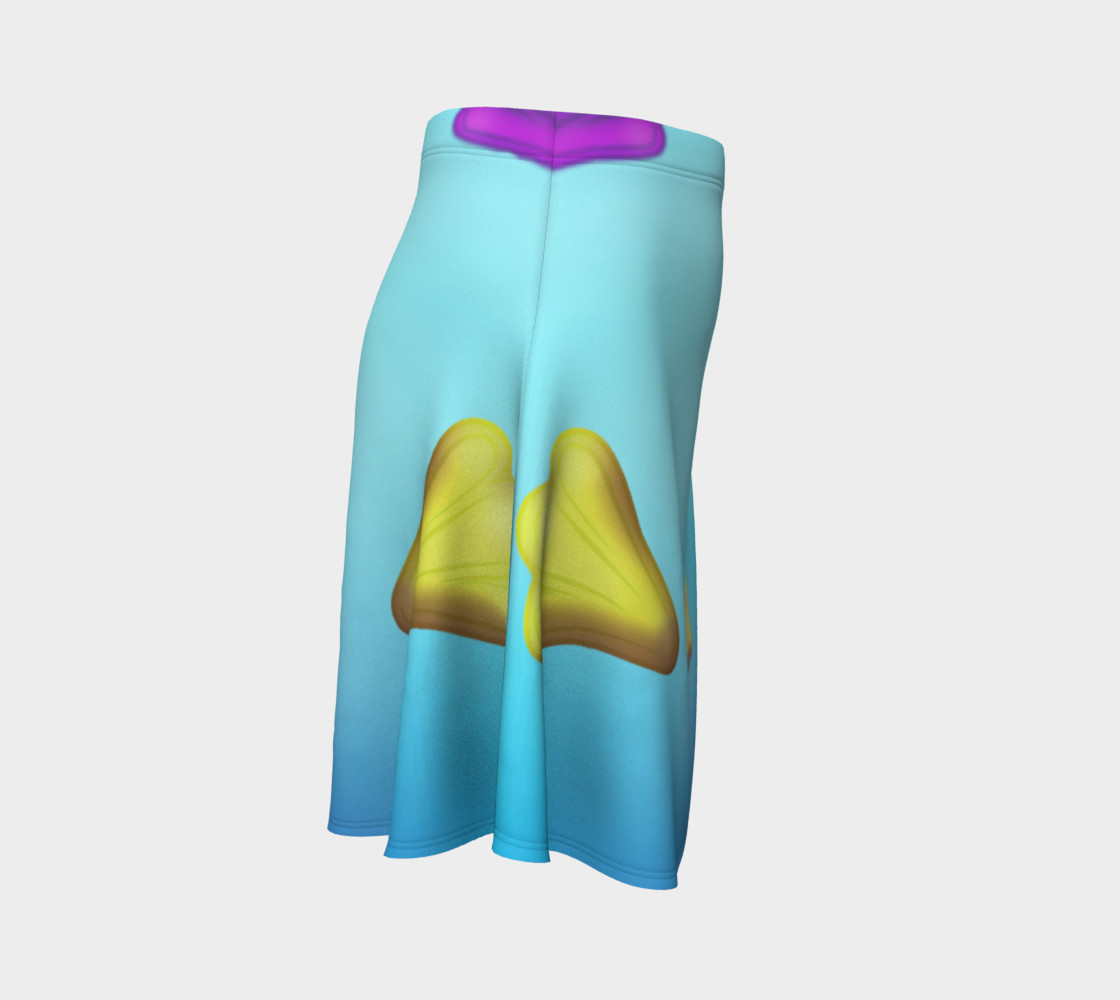 Jet Plane Flare Skirt by Squibble Design preview #3