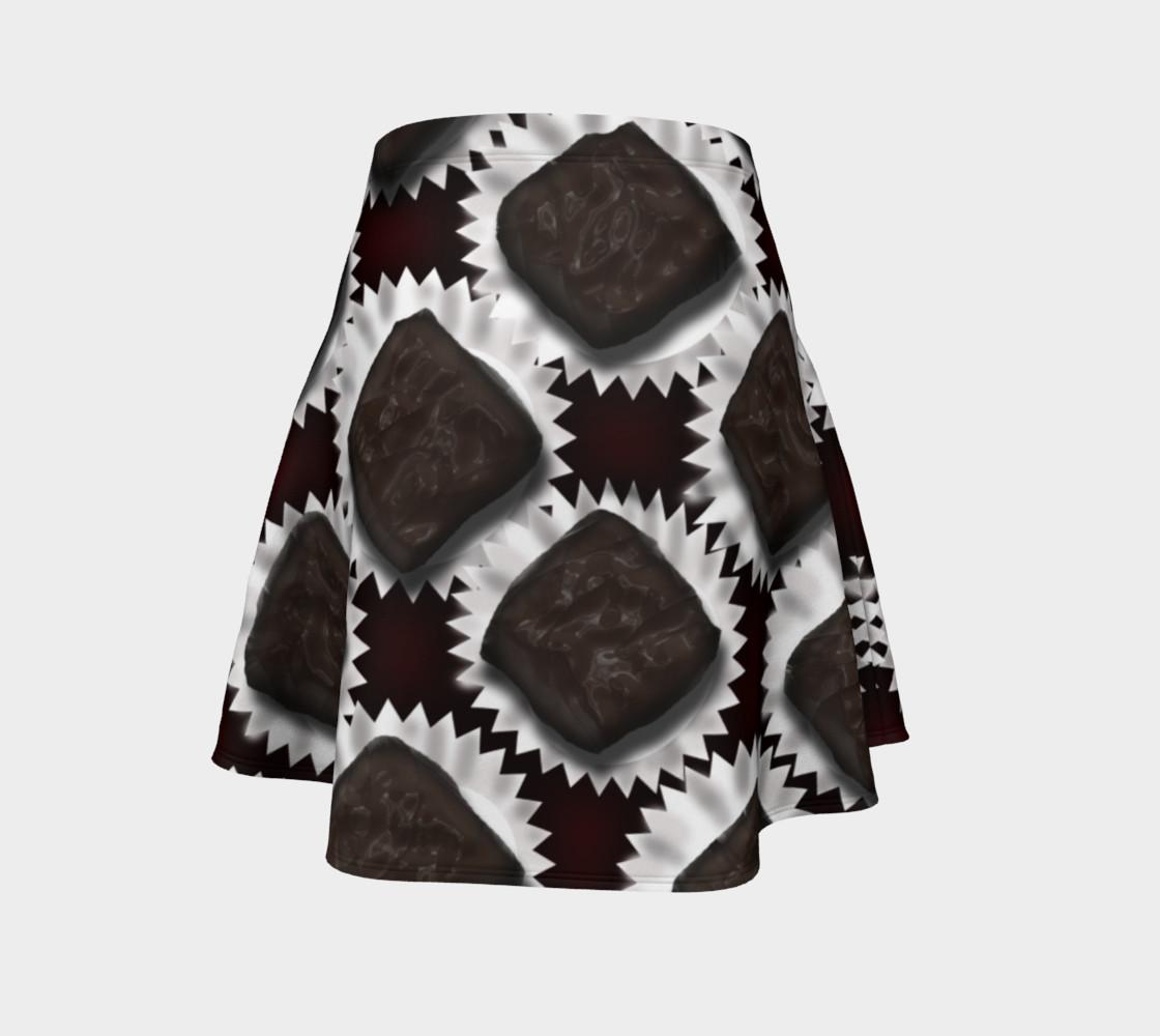 Aperçu de Box of Chocolates Flare Skirt #4
