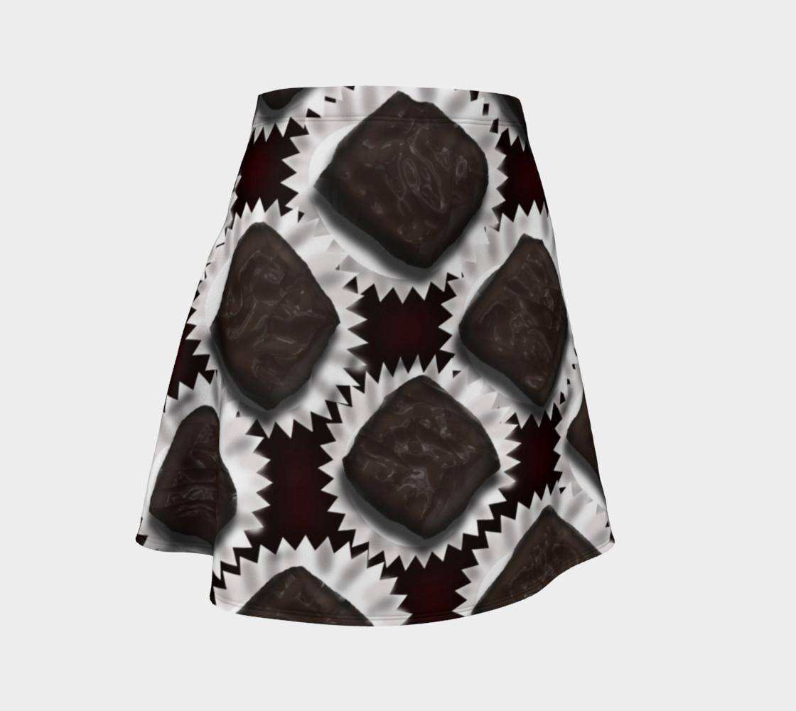 Aperçu de Box of Chocolates Flare Skirt #1