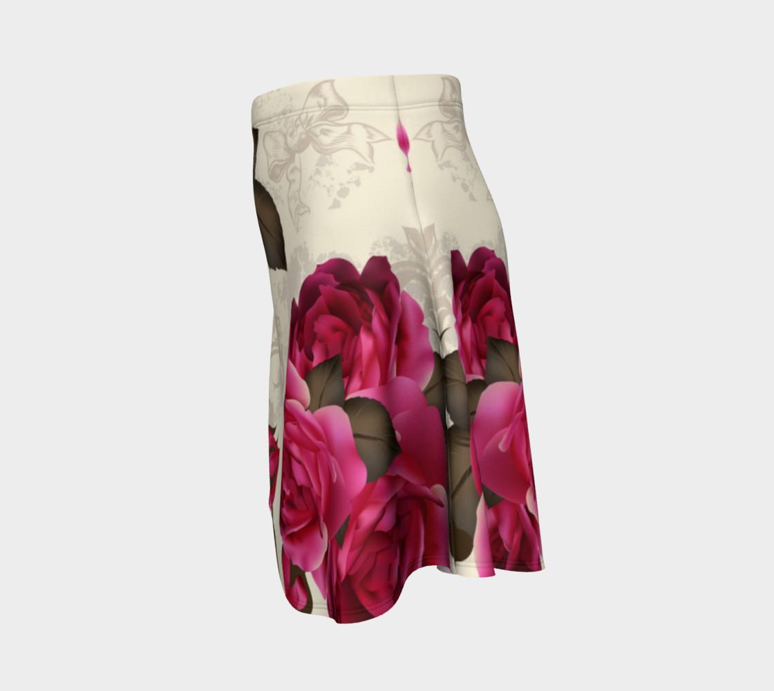 Aperçu de Shabby Chic - Deep Pink Roses #2