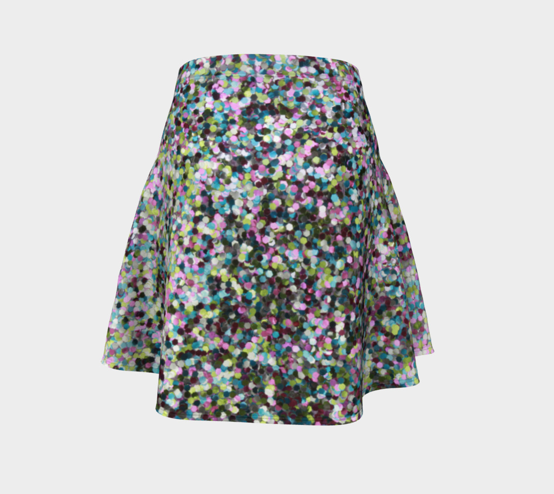 Flare Skirt Glitters preview #4
