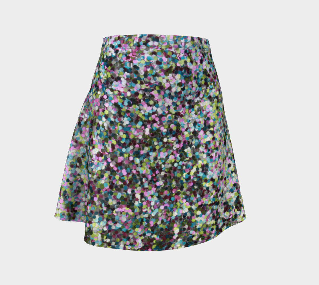 Flare Skirt Glitters preview #1