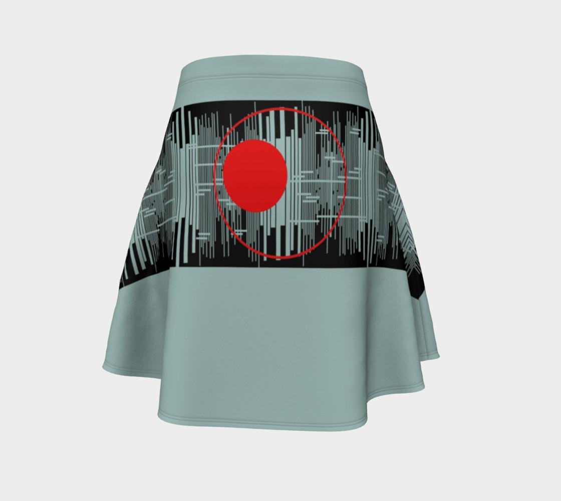 Aperçu de Space age Flare Skirt #4