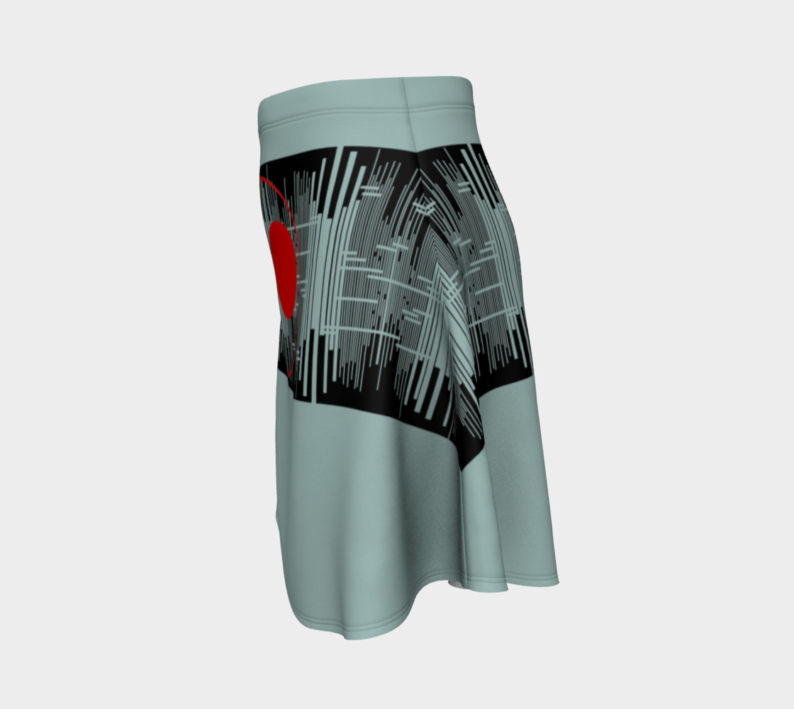 Space age Flare Skirt preview #2