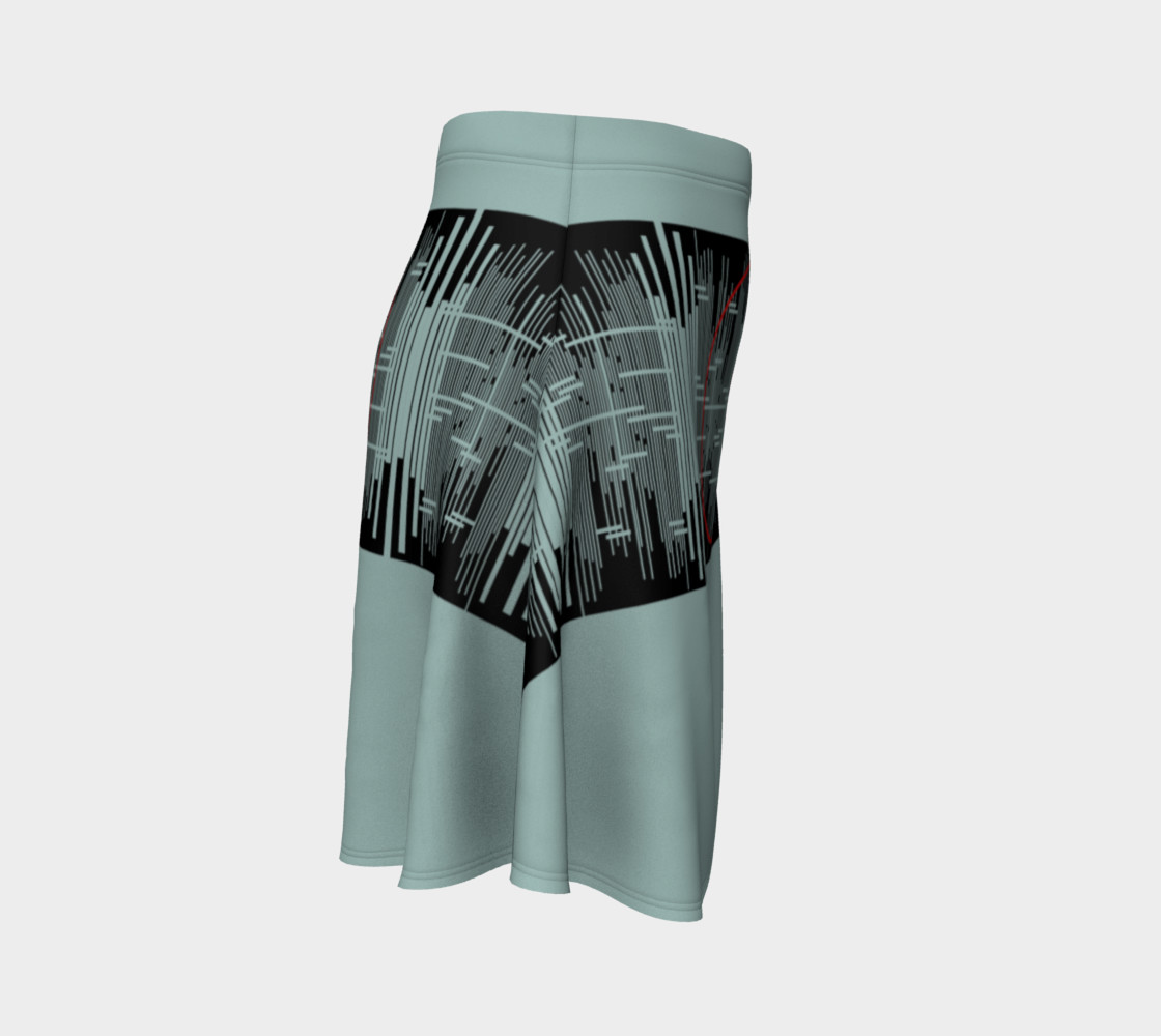 Space age Flare Skirt preview #3