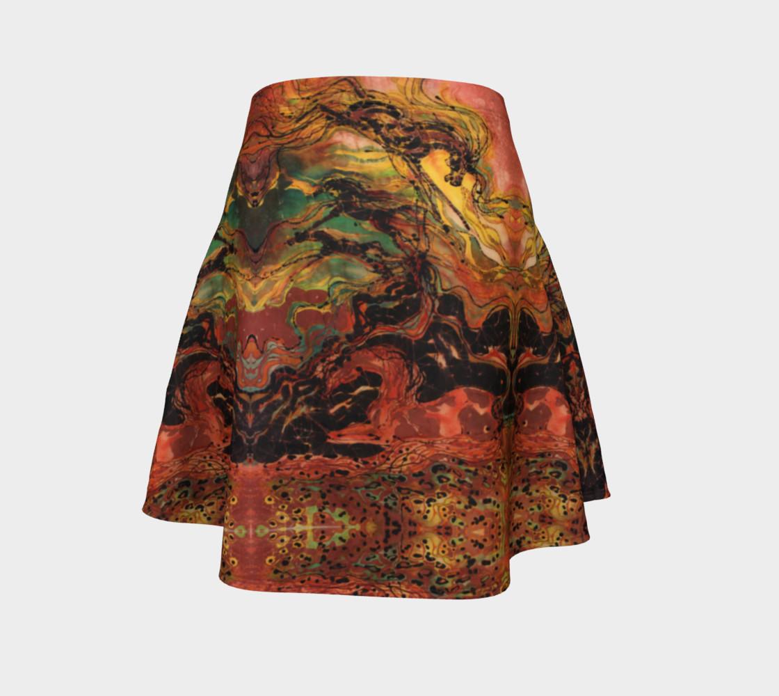 Thunderstorm flare skirt preview #4