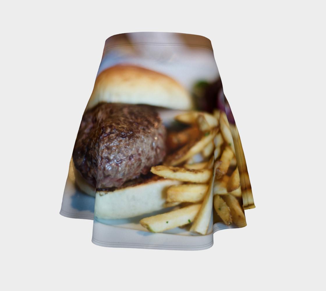 Aperçu de Hamburger and Fries Skirt #4