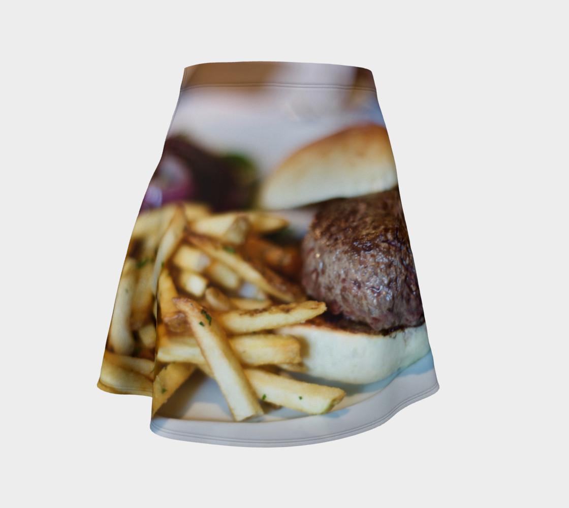 Aperçu de Hamburger and Fries Skirt #1
