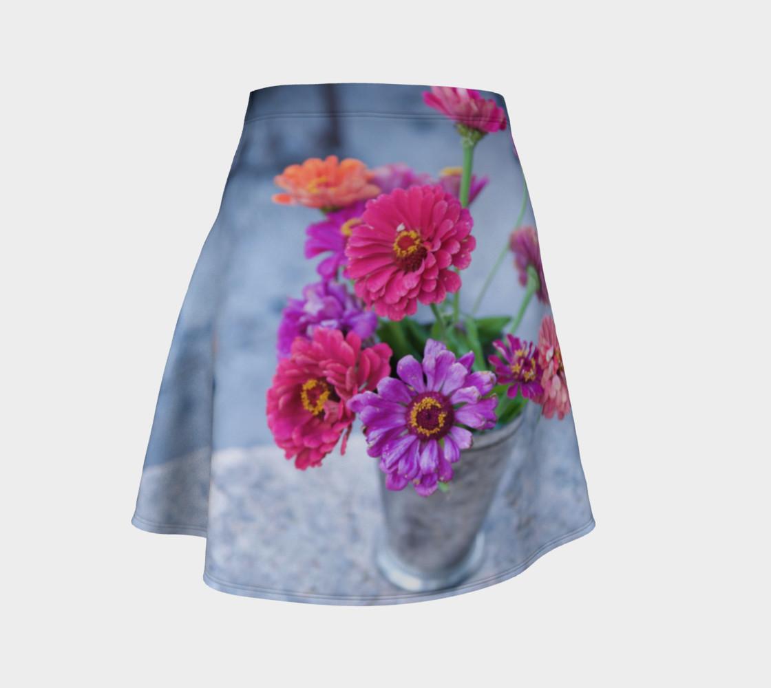 Aperçu de Zinnia Bouquet Skirt #1