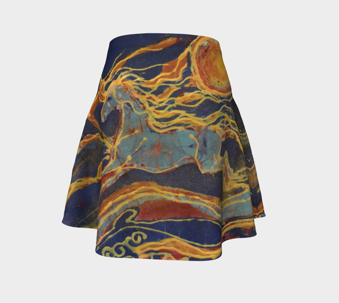 Out of the Sun Flare Skirt preview #4