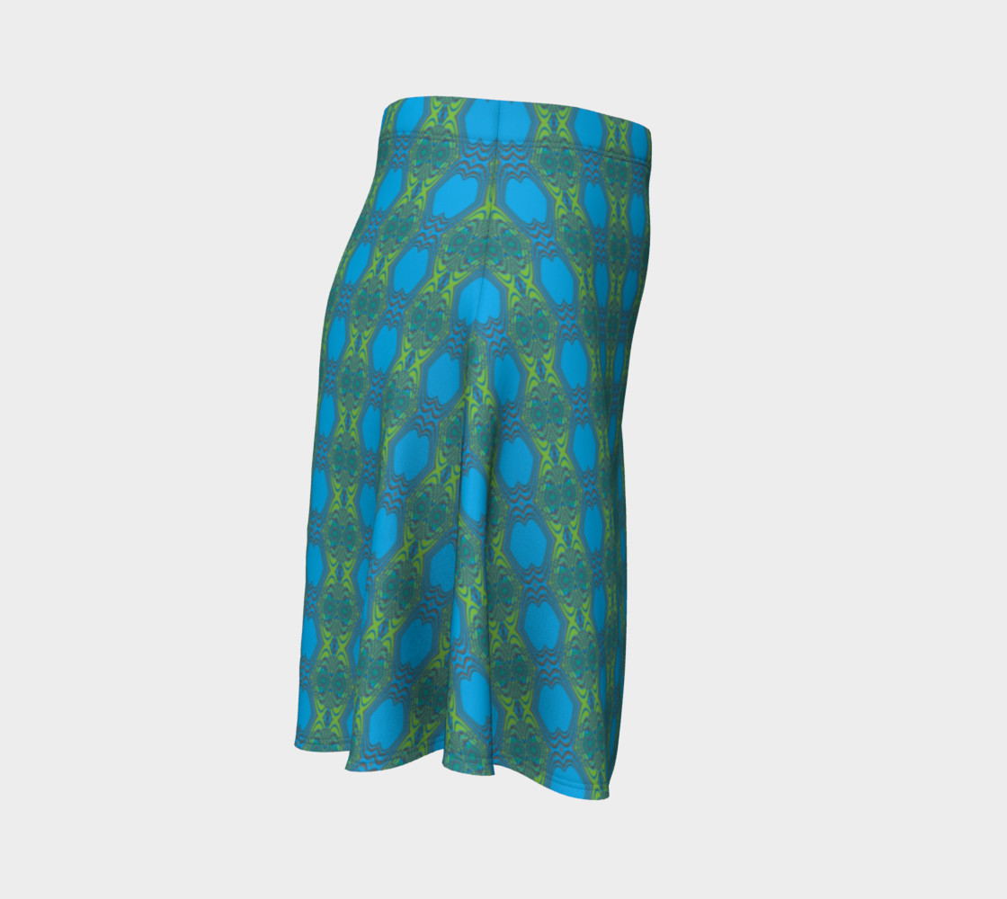 Blue Green Diamonds - 3 Swirl preview #3