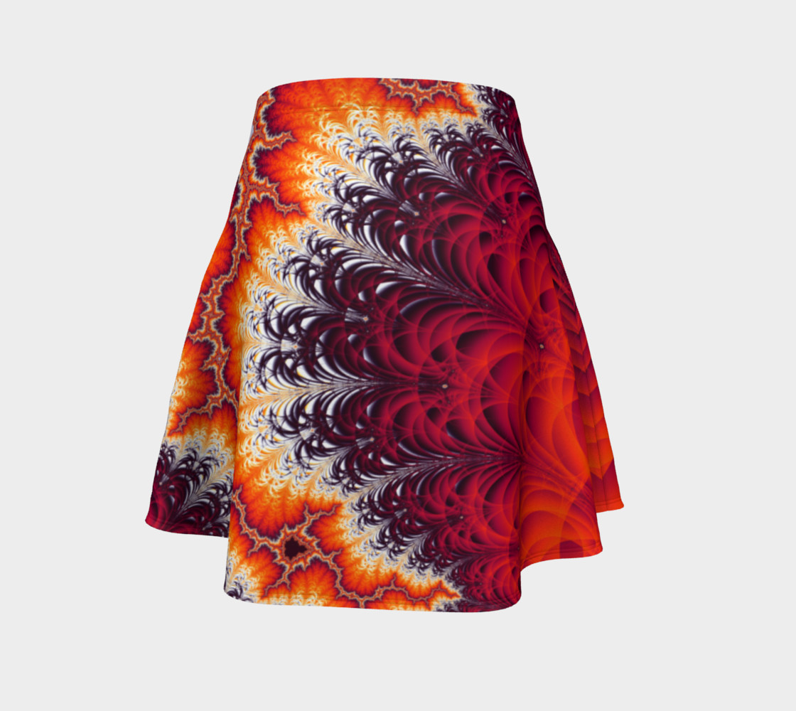 Lightning Bolt Flare Skirt preview #4