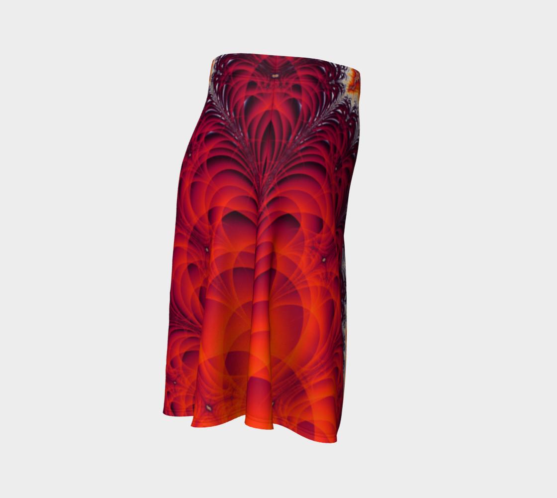 Lightning Bolt Flare Skirt preview #3