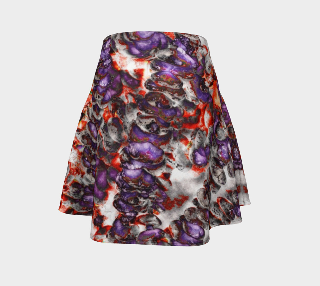 Aperçu de Between good and evil flare skirt #4