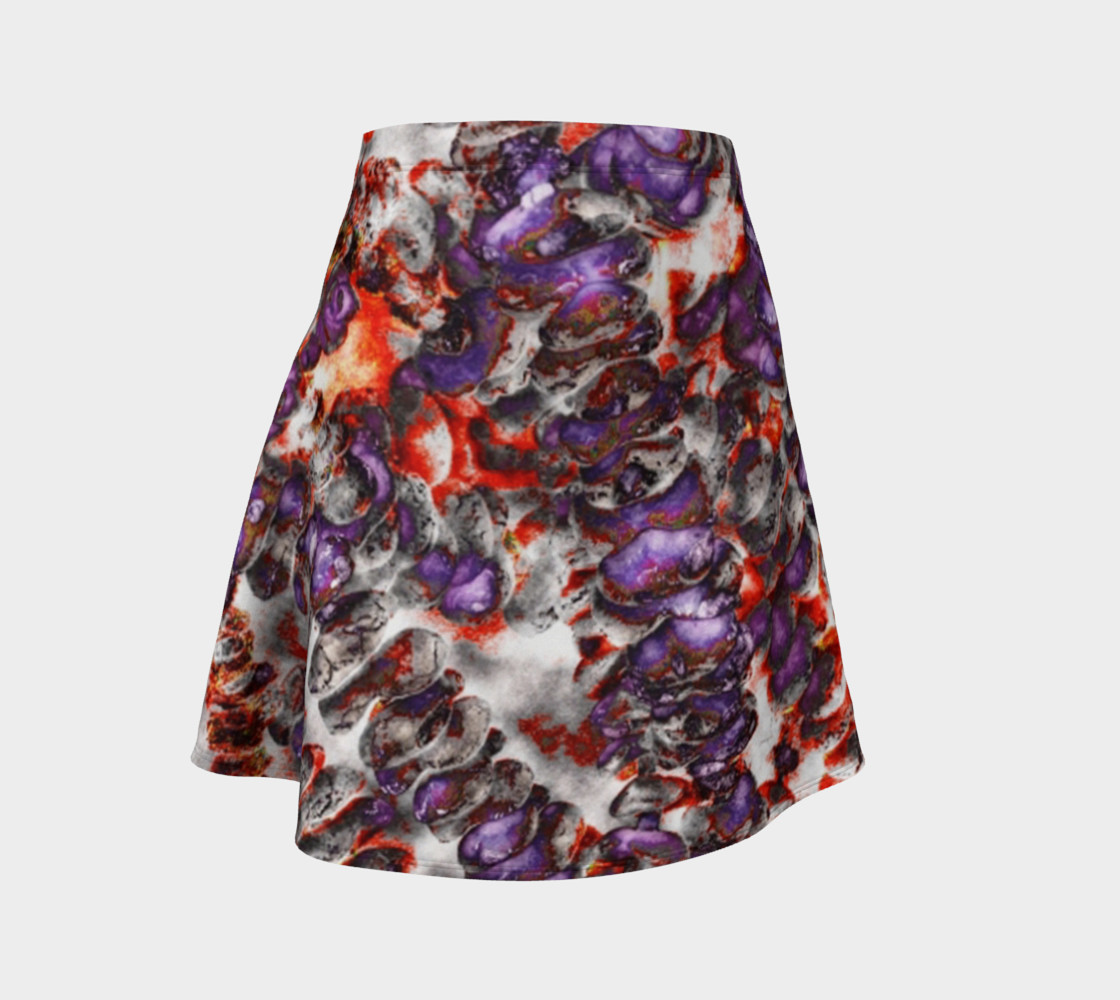 Aperçu de Between good and evil flare skirt #1