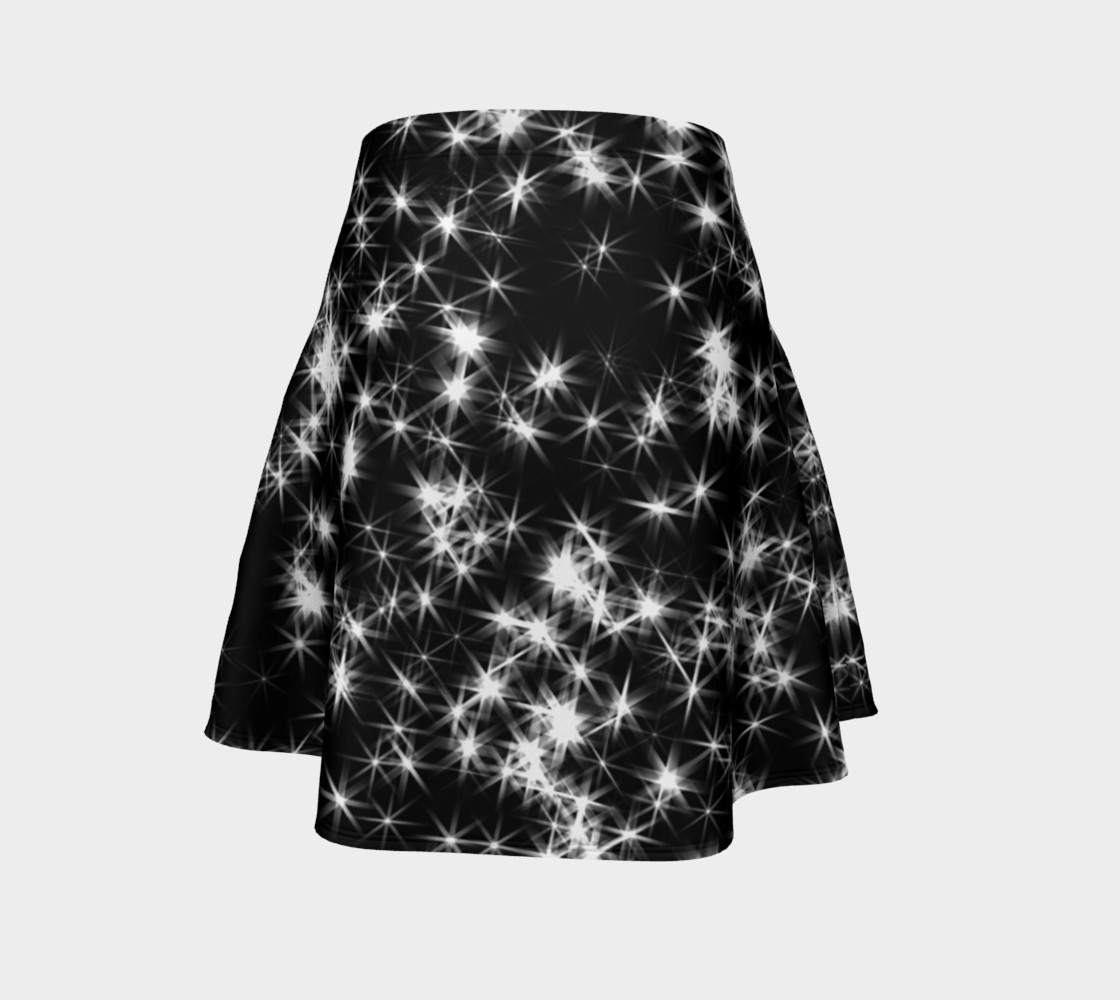 Sparkly Stars Flare Skirt preview #4