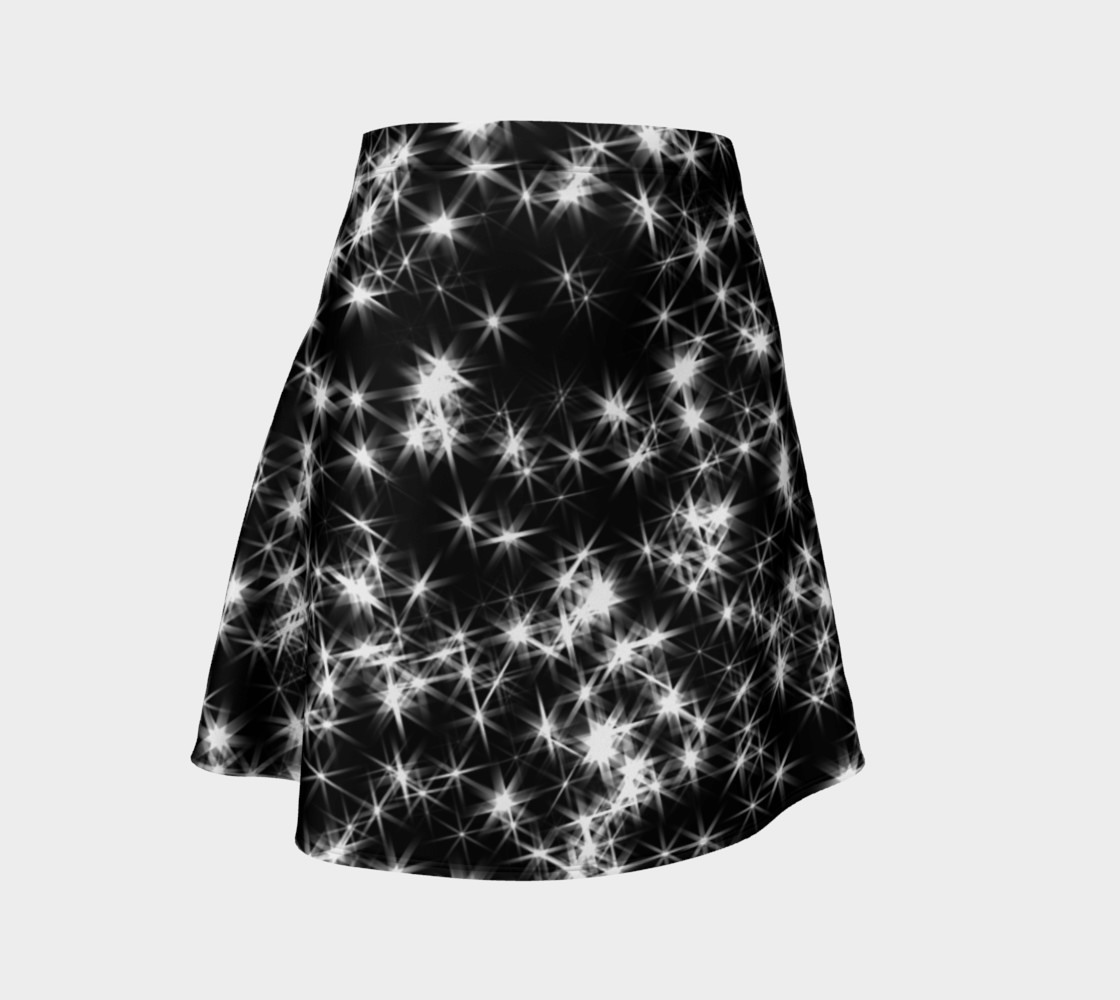 Sparkly Stars Flare Skirt preview #1
