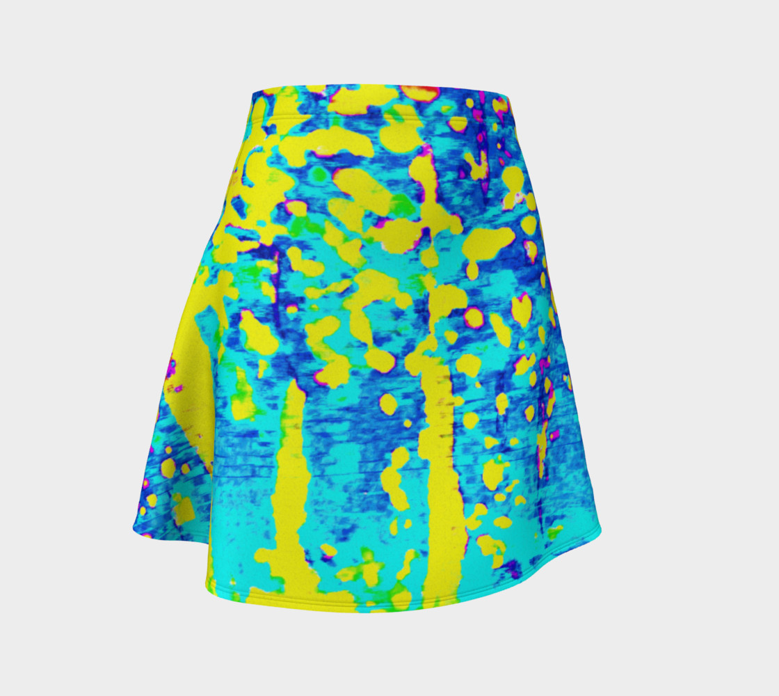Aperçu de Running Through Magic Trees Flare Skirt #1