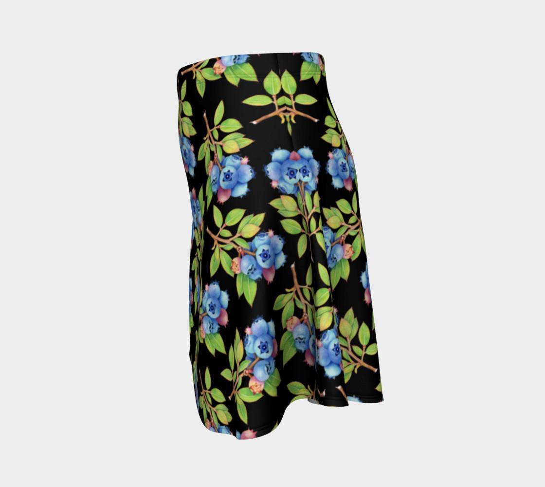 Aperçu de Blueberry Sprig Flare Skirt #2