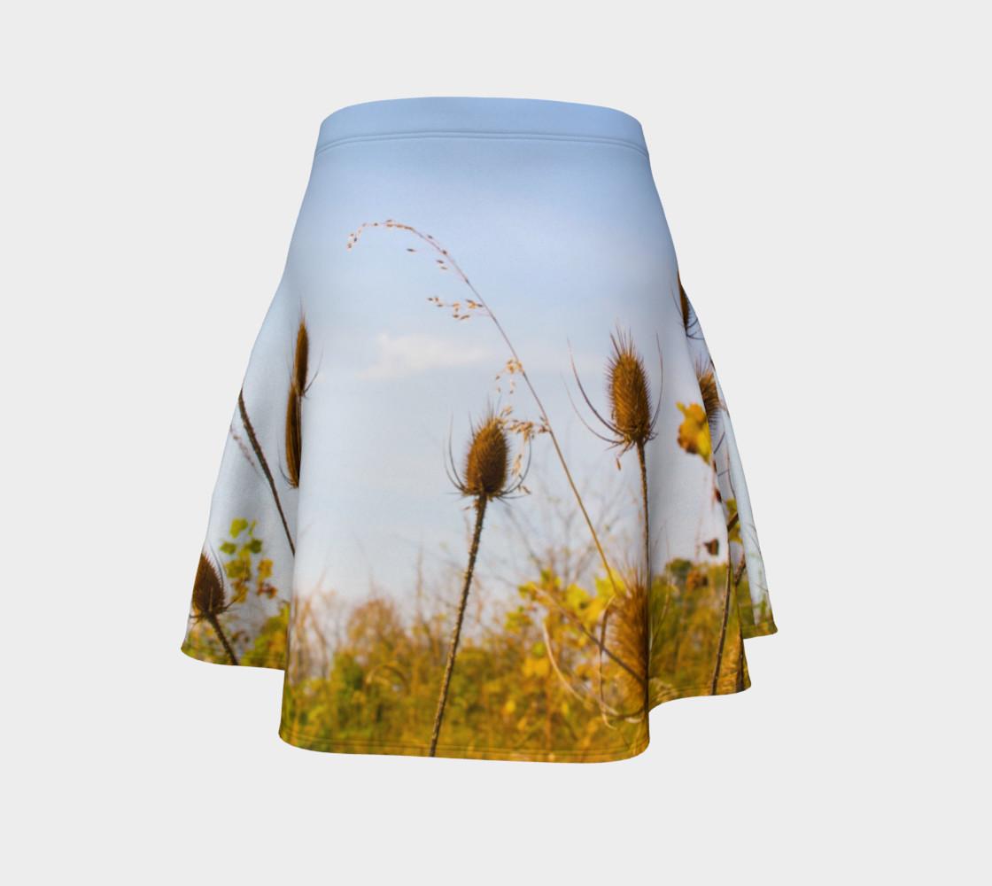 Aperçu de Fall Meadow Skater Skirt #4