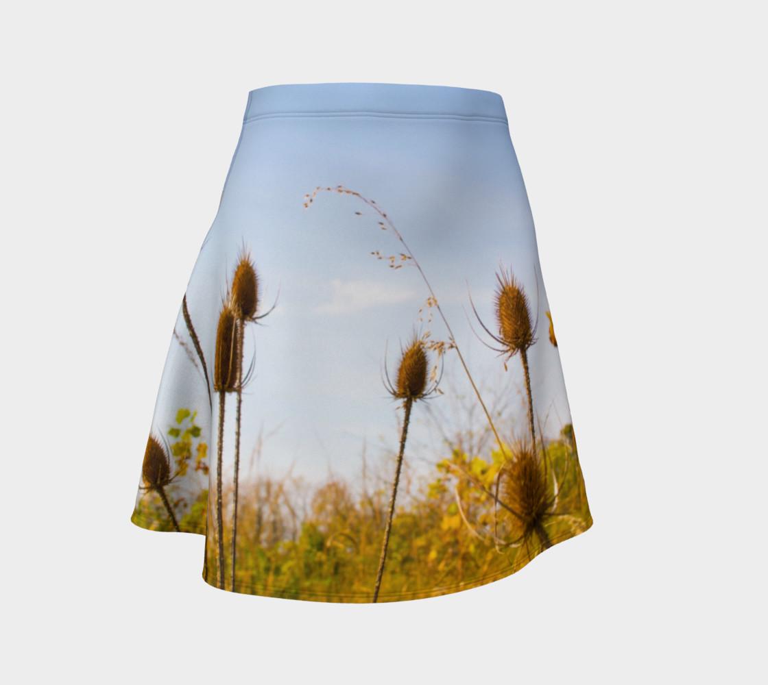 Aperçu de Fall Meadow Skater Skirt #1