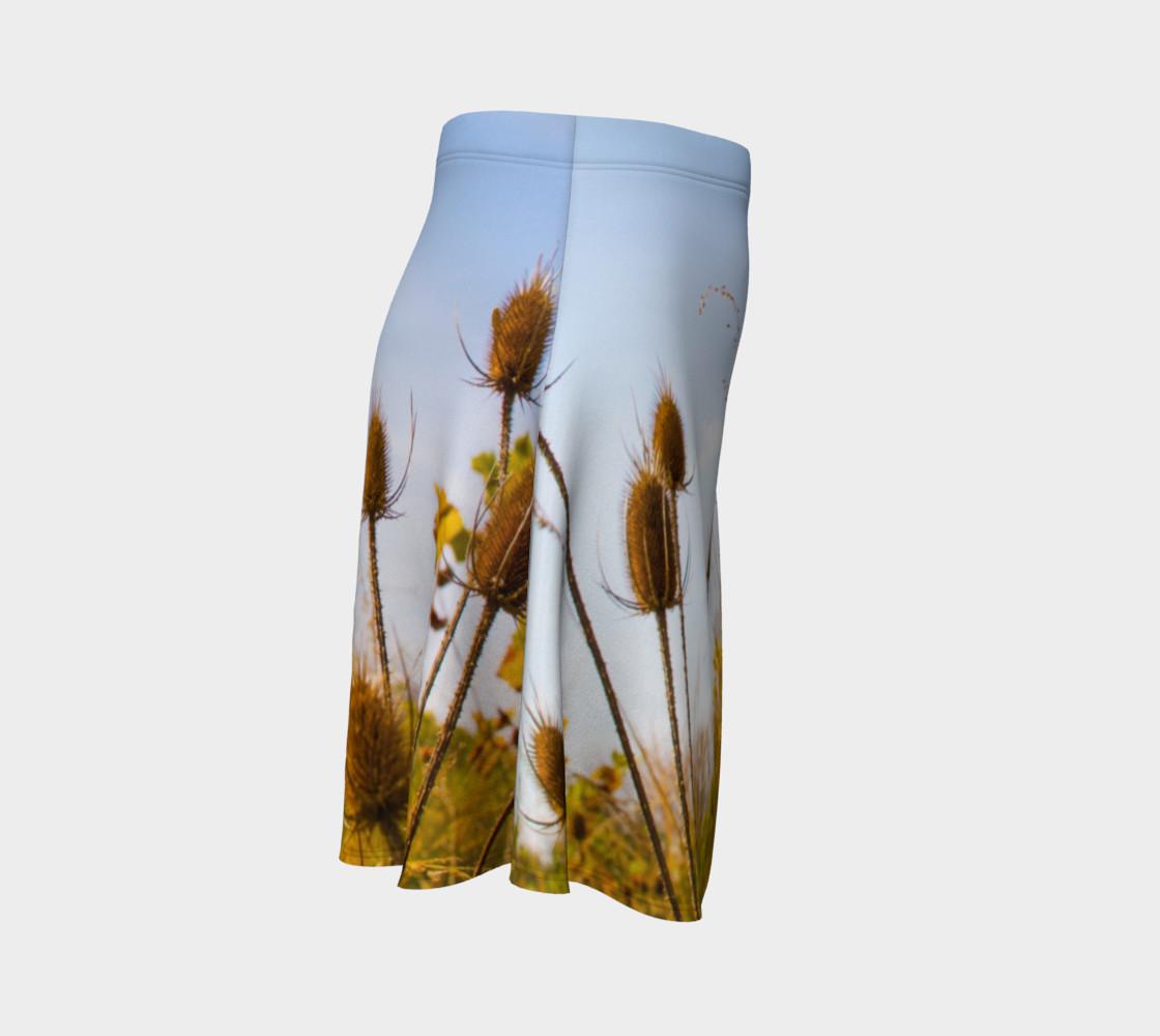 Aperçu de Fall Meadow Skater Skirt #3