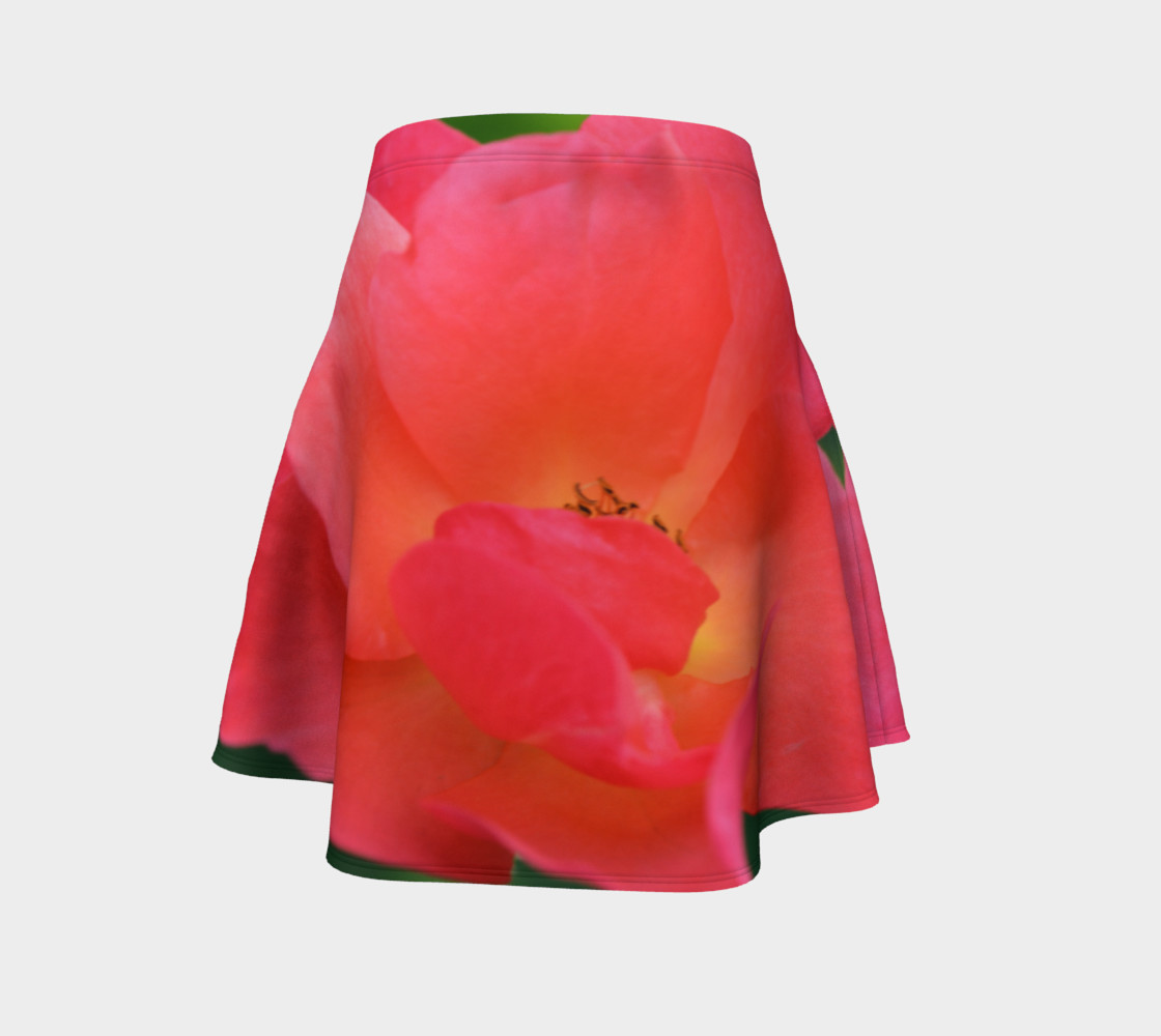 Pretty Pink Lady Flare Skirt preview #4