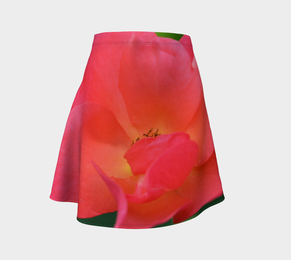 Pretty Pink Lady Flare Skirt preview #1