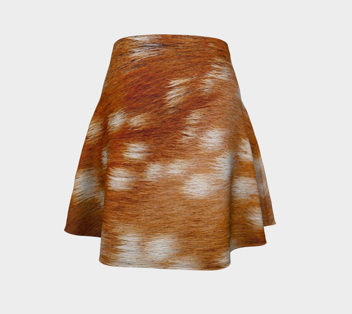 fawn fallow real fur preview #4