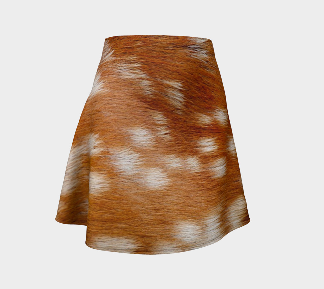 fawn fallow real fur preview #1