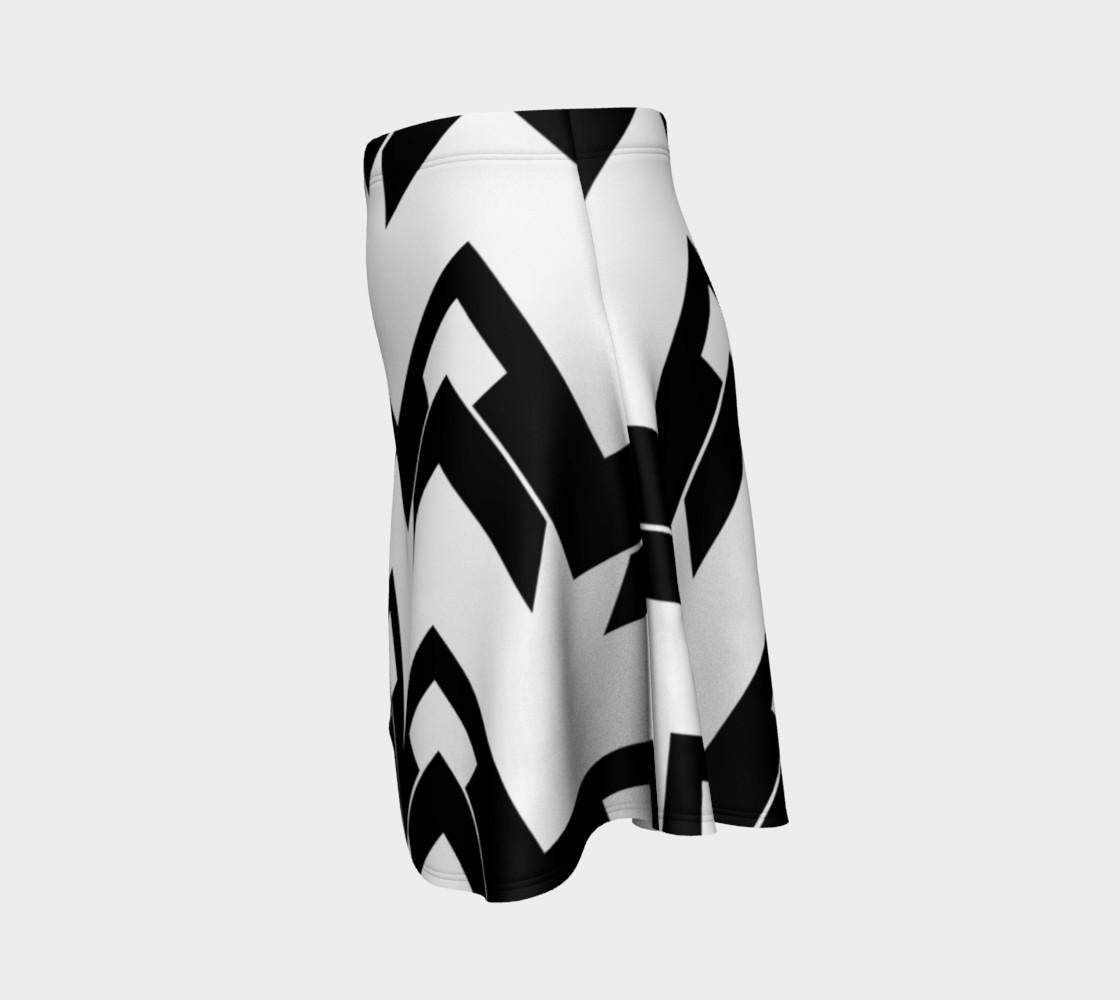Aperçu de Chevron black and white #2