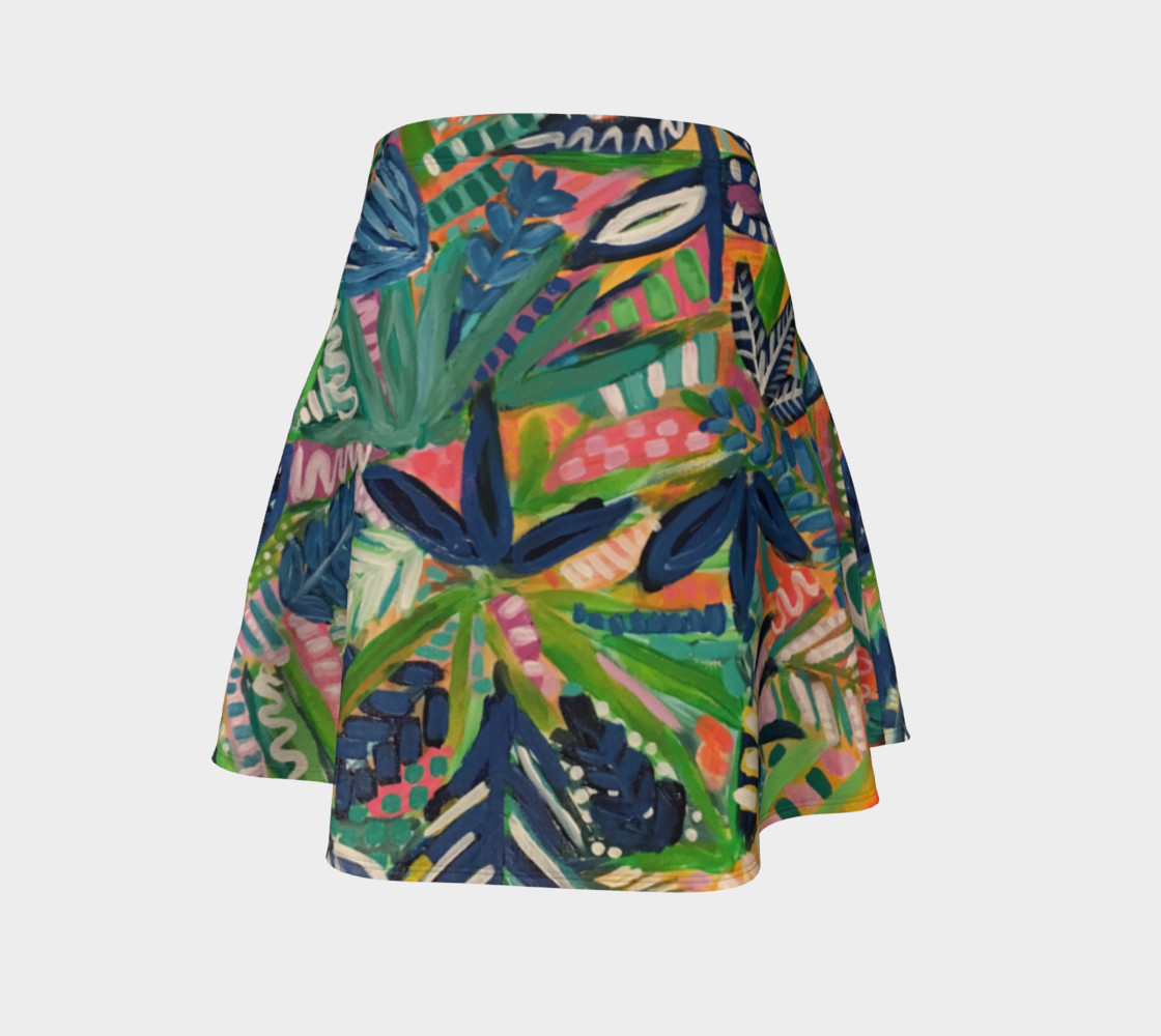 Jungle Jive- Flare Skirt preview #4