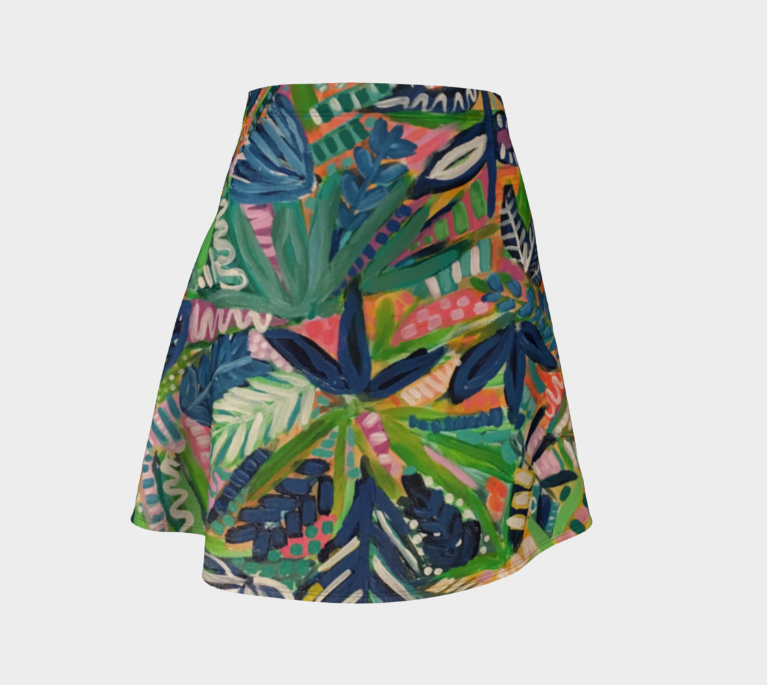 Jungle Jive- Flare Skirt preview #1