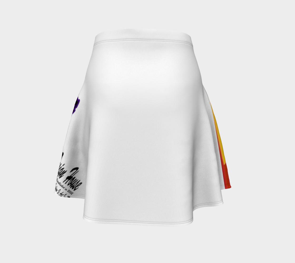 TSX Design House Logo Flare Skirt preview #4
