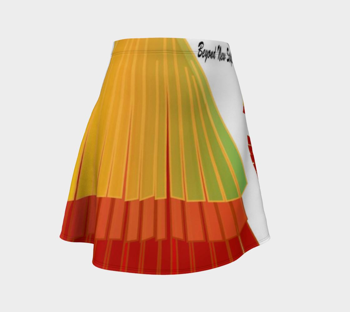 TSX Design House Logo Flare Skirt preview #1