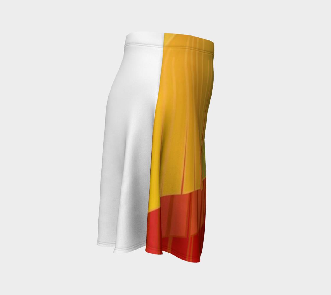 TSX Design House Logo Flare Skirt preview #3