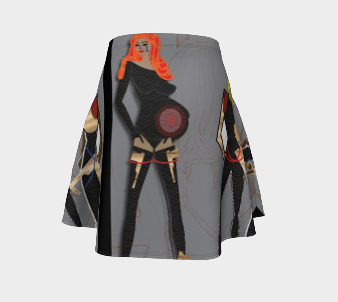 SxRevolution Flare skirt preview #4