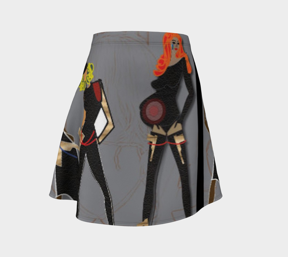 SxRevolution Flare skirt preview #1