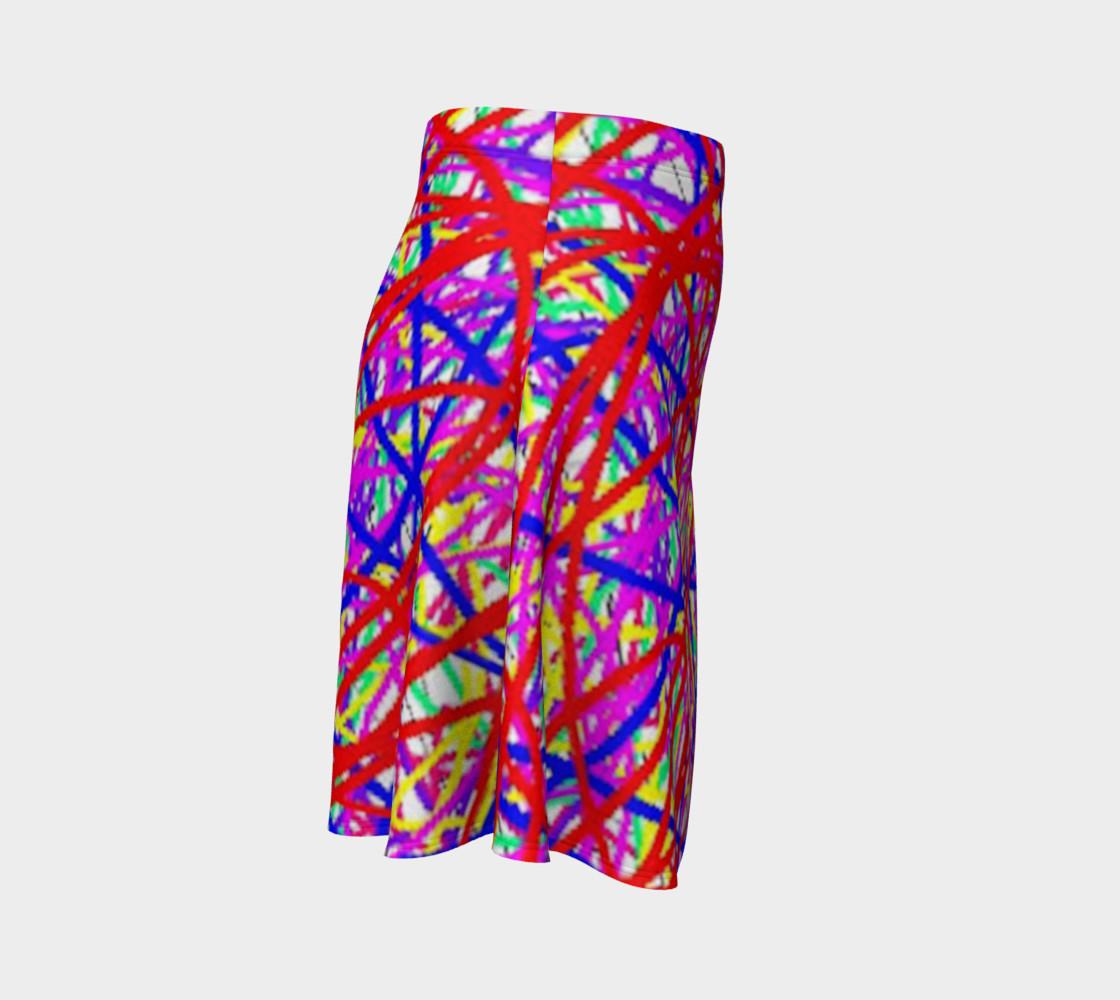Aperçu de Energy Of Life In Color Flare Skirt #3