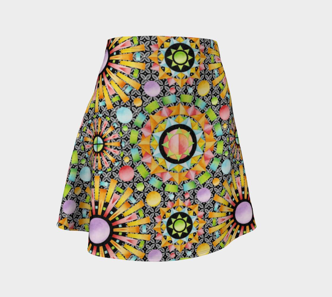 Aperçu de Aurora Geometric Skirt #1