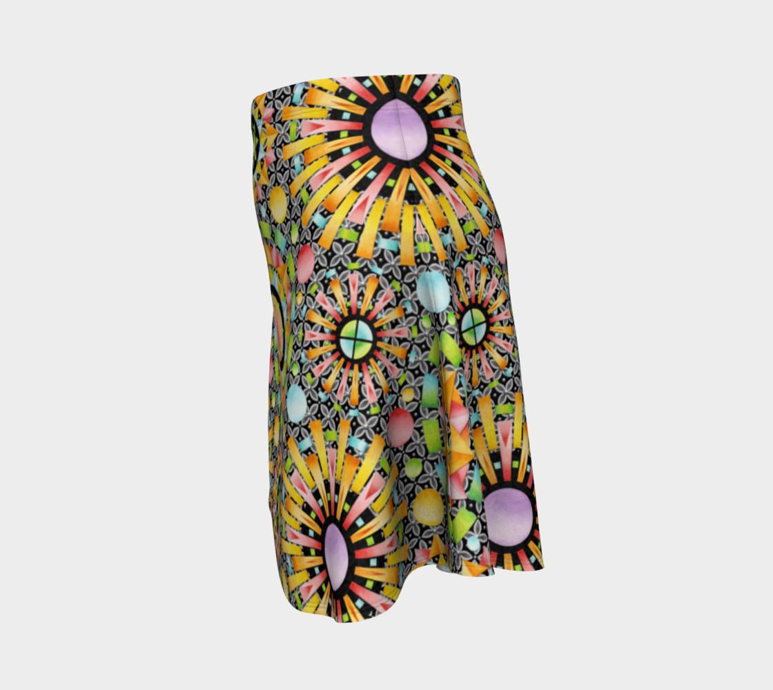 Aperçu de Aurora Geometric Skirt #2