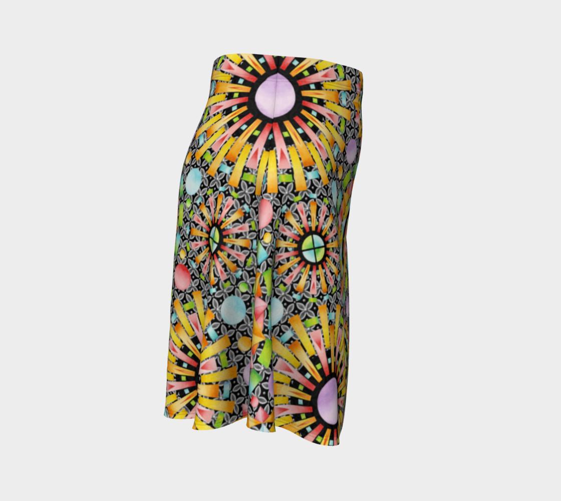 Aperçu de Aurora Geometric Skirt #3