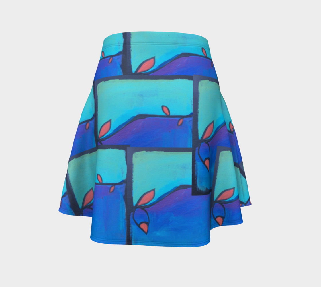 twisted vine flare skirt preview #4