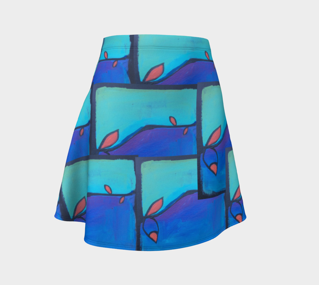 twisted vine flare skirt preview #1
