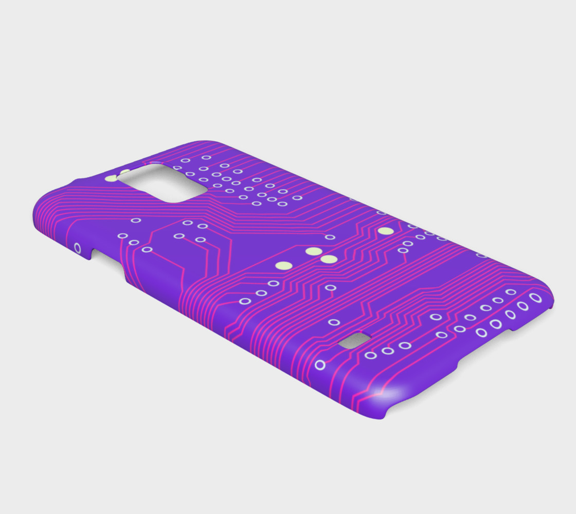 Pink Circuit Board - Galaxy s5 case Miniature #3