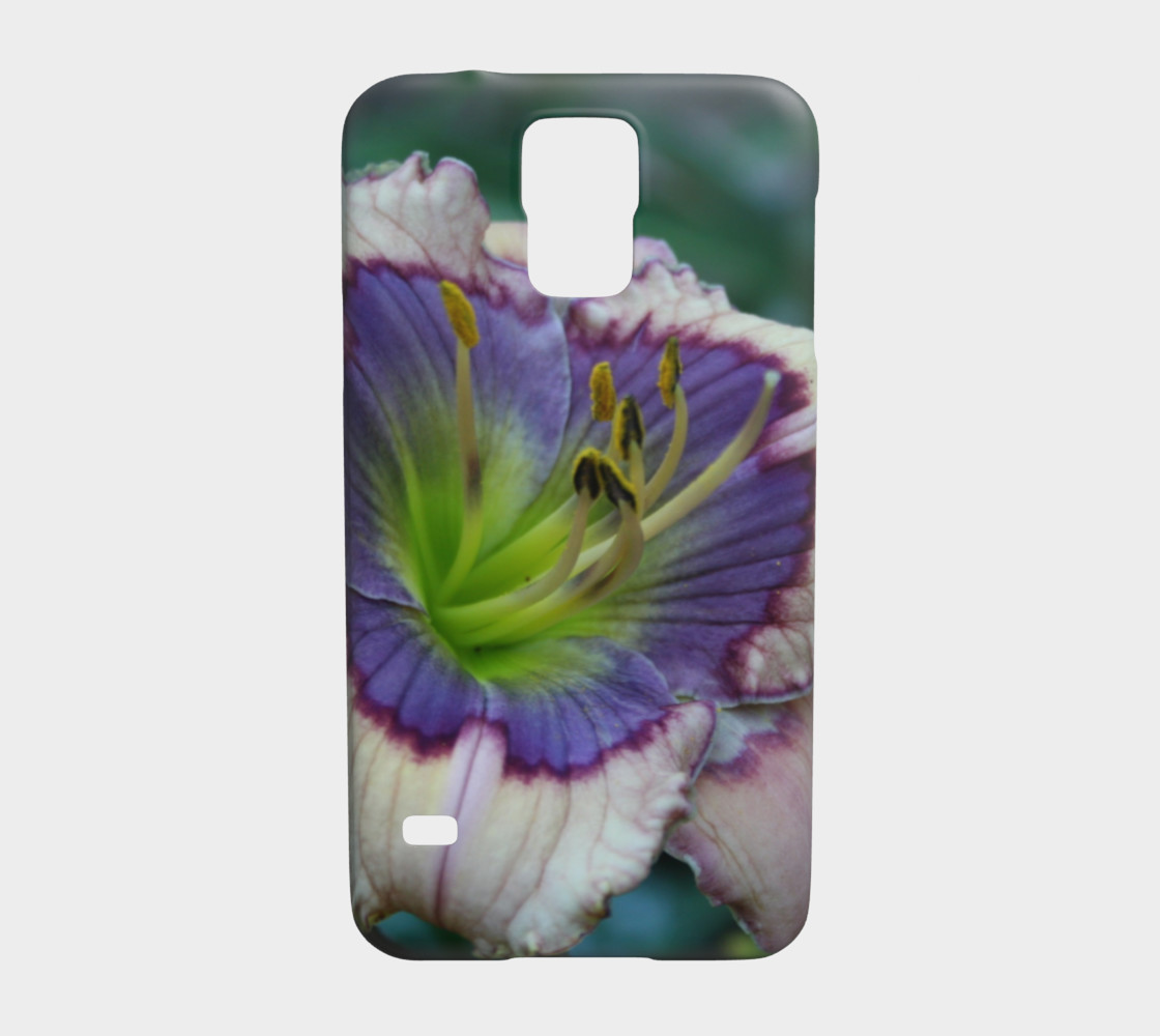 blue beetle daylily samsung galaxy case 3 s5 preview #1