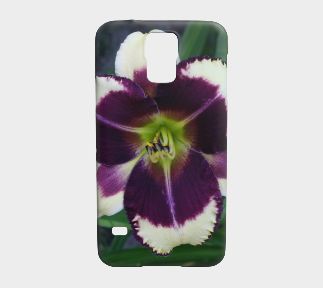daylily samsung galaxy s5 case preview #1